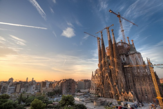 Barcelona-La-Sagrada-Familia
